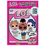 L.O.L Sorpresa! Sticker Collection Starter Pack Divertente gioco di giocattoli per hobby (Inviato da UK)