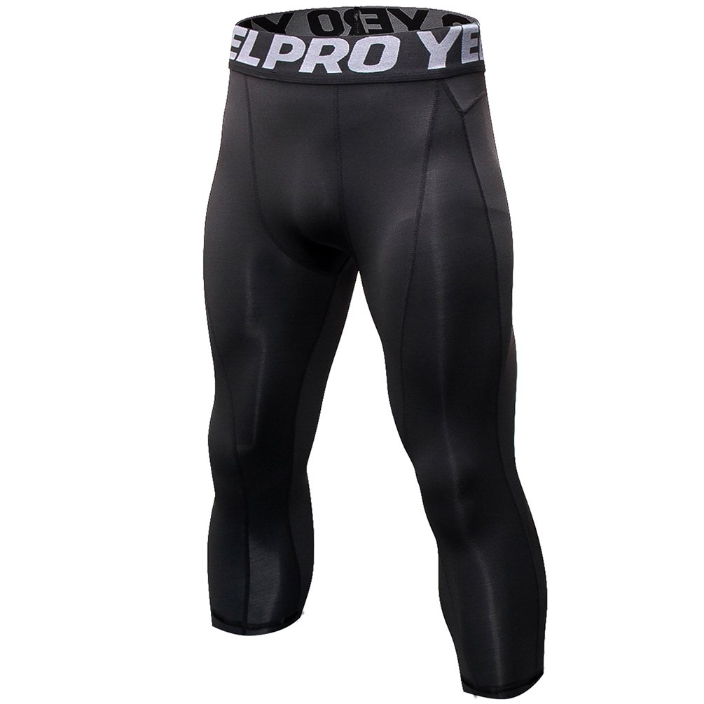 6c2dcfd4b9f21 Information Specially designed with gradient compression for improved  circulation, this pair of3/4 compression pants effectively offers targeted  muscle ...
