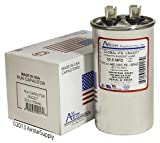 50 uf / Mfd Round Universal Capacitor • Trane Replacement USA2217 - used for 370 or 440 VAC , Made in the U.S.A.