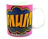 "Best Mums - Gift Republic Comic Book ""Mum"" Mug, Multi-Color Review"