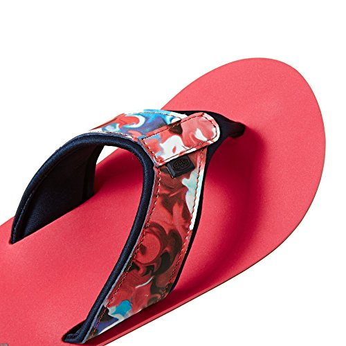 Animal Swish Upper AOP Womens Patterned Strap Surf Stil Zehentrenners Pink
