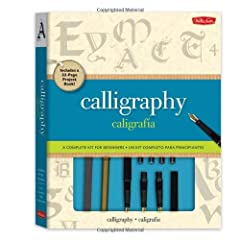 This complete kit makes it easy to start exploring the exciting art form of calligraphy because it comes with everything a beginning artist needs—from a set of high-quality materials to comprehensive instructions. The letterin...