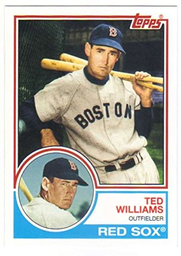 2015 Topps Archives #275 Ted Williams Red Sox (1983 Topps) MLB Baseball Card NM-MT