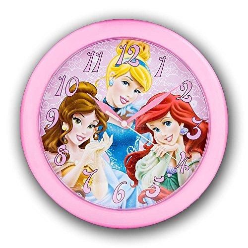 "Princess 10"" Round Wall Clock in Open Window Box"