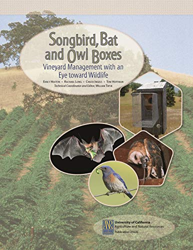 (Songbird, Bat, and Owl Boxes)
