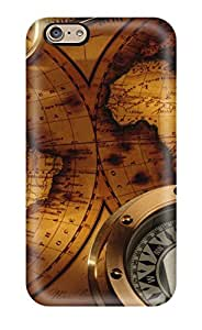 Cute Appearance Cover/tpu ASNlcll13652eQHfY Map Case For Iphone 6