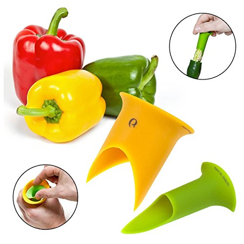 Want 2pk Progressive Prep Solutions Pepper Corers Twist to Core & Seed Bell & Chili cheapest