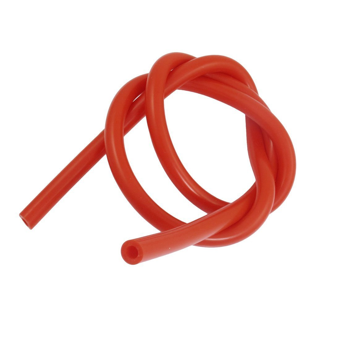 Sourcingmap a12071800ux0619 - De silicona de vací o tubo de manguera roja diá metro interno de 6 mm 1 m de largo