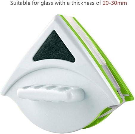 Limpiacristales Limpiacristales Cepillos de Superficie de Doble Cara Limpieza Cepillo de Limpieza de Cristal Magn/ético 5-12 Mm