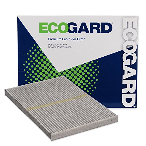 ECOGARD XC10461C Cabin Air Filter with Activated Carbon Odor Eliminator - Premium Replacement Fits Nissan Rogue, Sentra, Rogue Select
