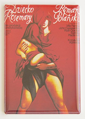 Rosemary's Baby (Poland) Movie Poster Fridge Magnet (2 x 3 inches)
