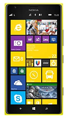 Nokia Lumia 1520 - Yellow- Factory Unlocked - LTE