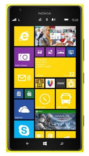 Nokia Lumia 1520 16GB Unlocked GSM 4G LTE Windows Smartphone w/ 20MP Camera & PureView Technology - Yellow (No Warranty)