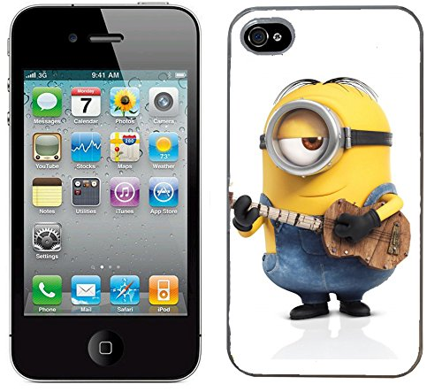 Moi moche et méchant Despicable me film minions cas adapte iphone 4 et 4s couverture coque rigide de protection (26) case pour la apple i phone