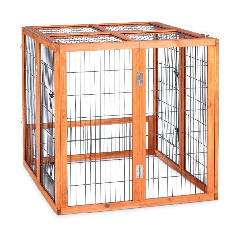 Prevue Hendryx 460PEN Pet Products Rabbit Playpen, Small (Prevue Hendryx Small Animal Playpen)