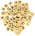 500 Scrabble Tiles - Wood Pieces - 5 Complete Sets - Great for Crafts  Pendants  Spellingの商品画像