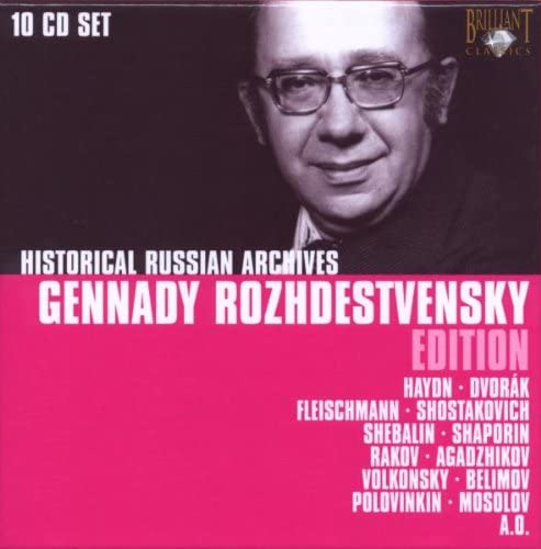 G.Rozhdestvensky Edition Box 10 CD: Ussr Ministry Of Culture ...