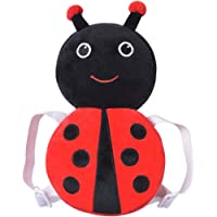 "Baby Head Protector Cushion - Head Protection Safety Pads with Flexible Strap for Infant/Toddler Walkers - Prevent Injuries (Red Ladybug 12""(4-24 Months))"