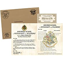Personalized Wizardry Acceptance Letter - with Envelope, Supply List and Train Ticket