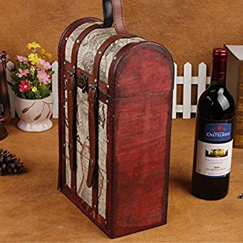 Amazon Com Yzl Vintage Wine Package Double Wine Box Antique Box