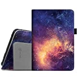 Fintie Folio Case for Kindle Fire HD 7' (2012 Old Model) - Slim Fit Leather Cover with Auto Sleep/Wake Feature (Will only fit Amazon Kindle Fire HD 7, Previous Generation - 2nd), Galaxy