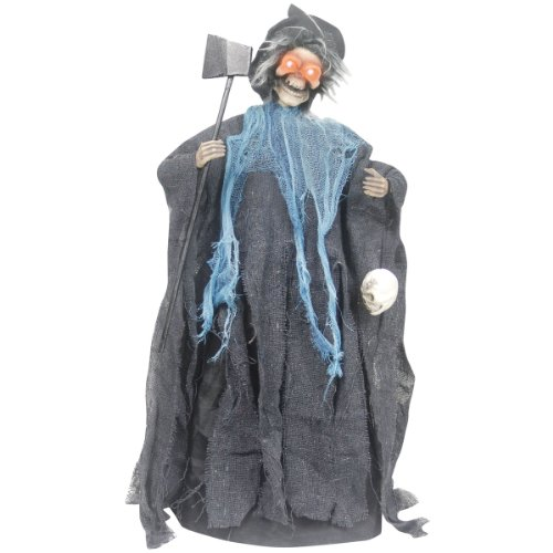 [Sunstar Industries Animated Crazed Witch Halloween Decoration Prop] (Animated Witch)