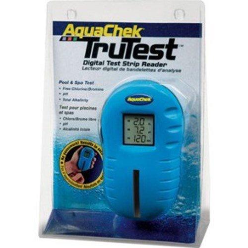 Aquachek 2510400 Trutest Digital Pool Spa Test Strip Reader Meter 25 Free Strips