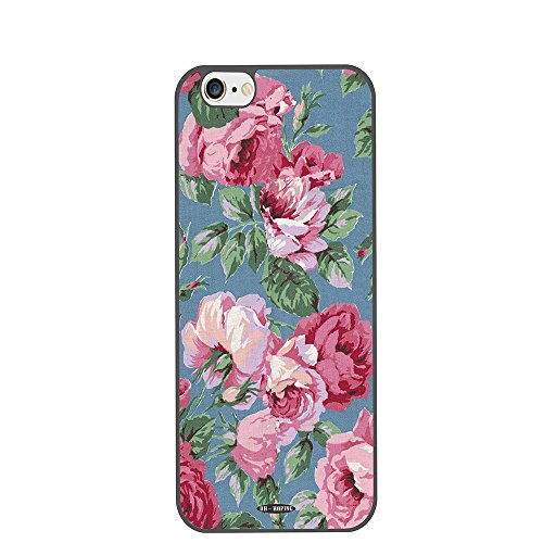 Price comparison product image Iphone 6 Plus Case,  DH-hoping (TM) Cellphone Case for Iphone 6 Plus 5.5 Inch High Impackt Combo Hybrid Hard Pc&soft TPU Border & Metal Aluminum Protective Case with Luxurious Pattern (Retro Style VIII)