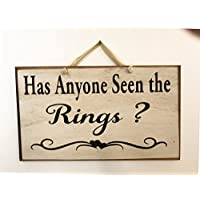 Has anyone seen the rings sign wedding