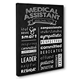 Personalized Medical Assistant Wall Art Canvas Gallery Wrap - Graduation Gift