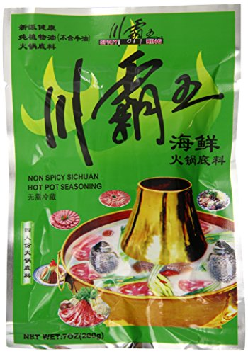 (Spicy King Hot Pot Sauce Seafood Flavor, 7 Ounce (Pack of 5))