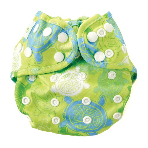 Bumkins Cloth Diaper Cover, Turtle (Bumkins Diaper Cover)