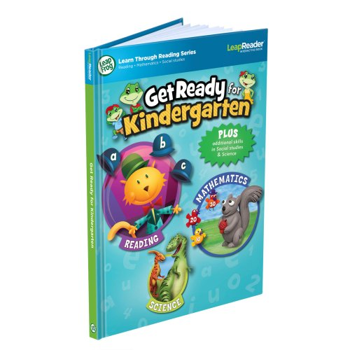 System Get Activity Read Ready To - LeapFrog LeapReader Book: Get Ready for Kindergarten (works with Tag)