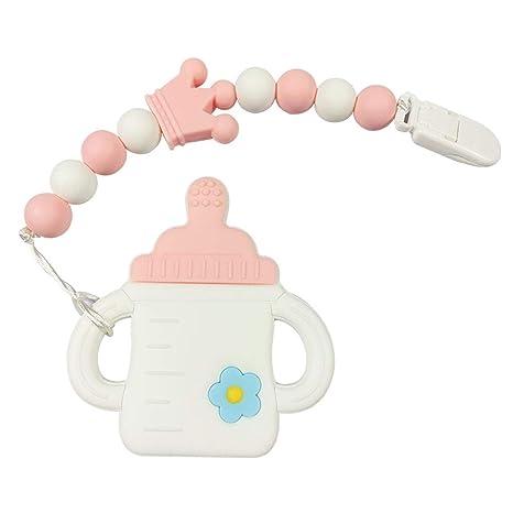 Juguetes para la dentición del bebé - Biberífera de silicona ...