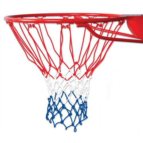 Coast Athletic Red White and Blue Basketball Net