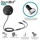 SoundBot SB360 Bluetooth 4.0 Car Kit Hands-Free Wireless...