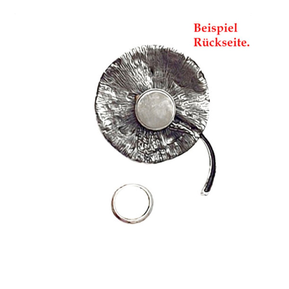 AKKI Magnetic Pendant Star with Rhinestone Brooch for Clothes Scarves Towels and Magnetic Jewellery Ponchos/ /Tree of Life Flower Magnetic Pin Misses Ponchos Silver Poncho # 25