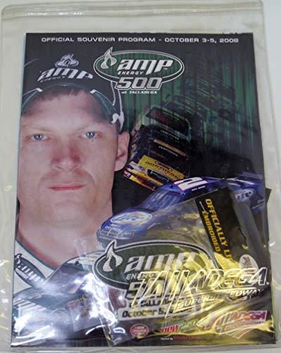 2008 Nascar Program - AMP enegry 500 of Talladega - Official Souvenir - Nascar Amp