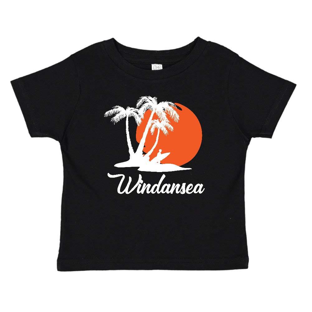 Windansea California Beach Sunset Surfer Toddler//Kids Short Sleeve T-Shirt