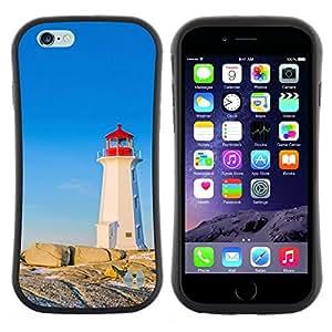 """Pulsar iFace Series Tpu silicona Carcasa Funda Case para Apple (4.7 inches!!!) iPhone 6 Plus / 6S Plus ( 5.5 ) , Buque de espera azul Sola"""""""