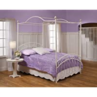 Hillsdale Emily Metal Headboard or Footboard Panel (Buy Two For Complete Bed) in White Powder Coat Finish - Twin