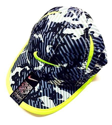 (Nike Boys Dri-Fit Swoosh Graphic Baseball Cap Adjustable Sz 2/4T)