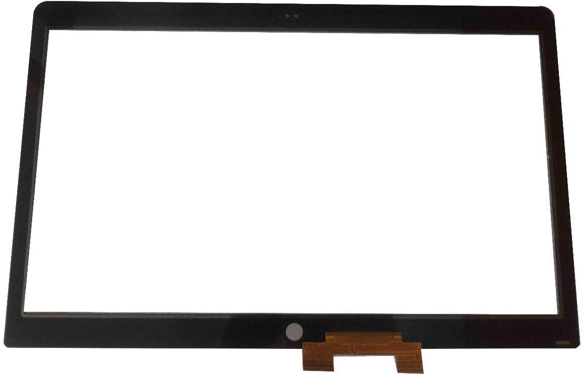 Bblon 17.3 Touch Screen Digitizer Panel Front Glass Only for HP Envy M7-U M7-U109DX Gold Cable