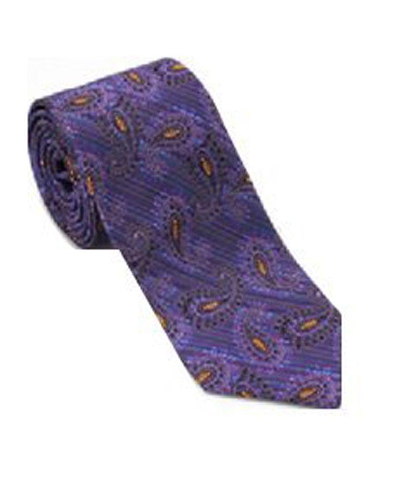 Robert Talbott Purple and Blue Seasonal Classic Best of Class Tie