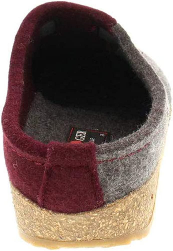 Haflinger Women's Magic Grey/Bordeaux