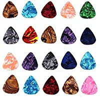 Pennycreek - Warner 20 pc Alice 0.46mm Guitar Picks Plectrums Smooth Nylon Material