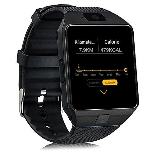 Smartwatch Bluetooth Lifewaterproof Android Camera