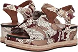 Naturalizer Women's Berry Espadrille Wedge Sandal, Taupe, 10 M US
