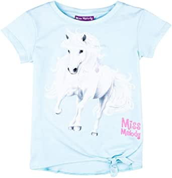 Miss Melody Niñas Camiseta, Azul