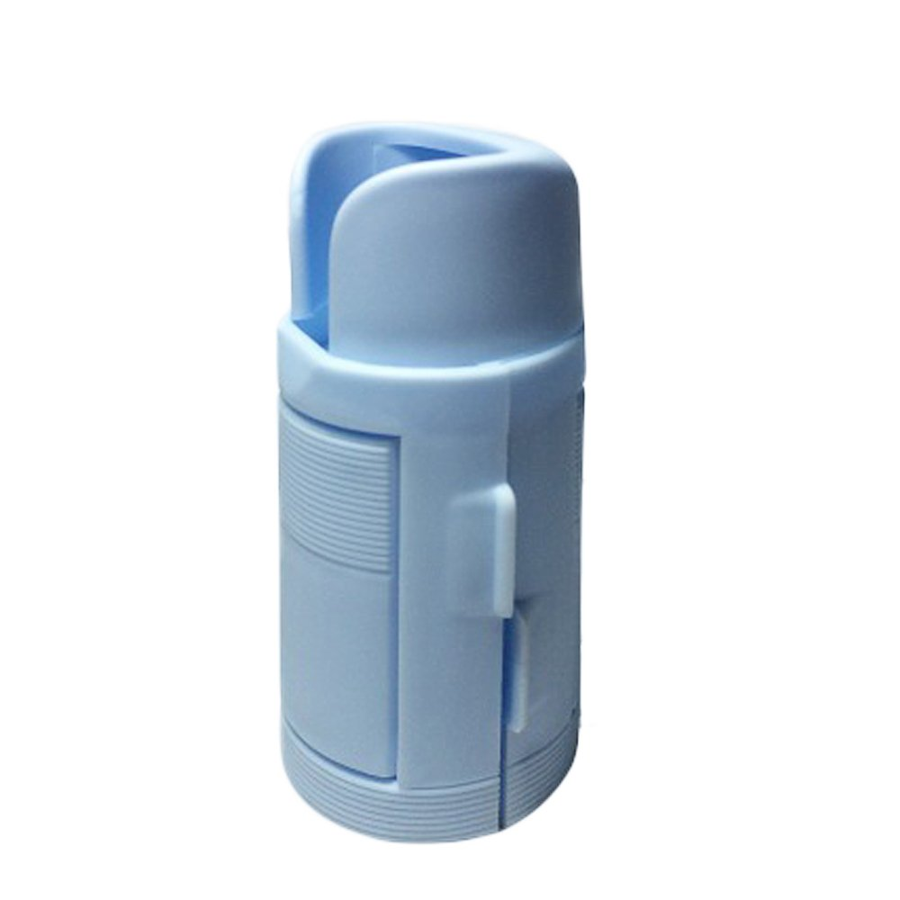 KIKIGOAL Quick & Easy Drops Application Eye Drop Applicator Bottle Guide Dispenser (blue)